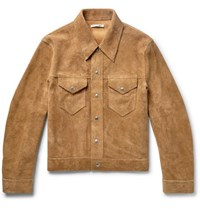 Our Legacy Suede Trucker Jacket Sand