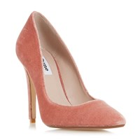 Dune Aiyana Pointed Toe High Heel Court Shoes Pink