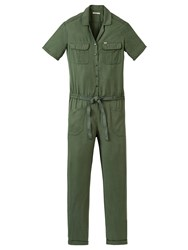 Lee Long Jumpsuit Military Green