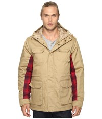 Staple Hunter Parka Camel Men's Coat Tan