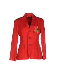 Ralph Lauren Suits And Jackets Blazers Women Red