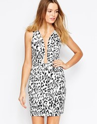 Finders Keepers Finder Keepers The Creator Dress In Leopard Print Light Leopard Brown
