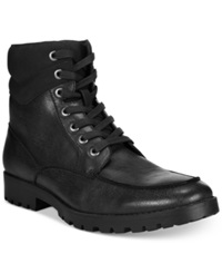 Unlisted A Kenneth Cole Production Upper Cut Boots Men's Shoes Black