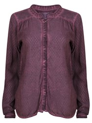 Garcia Women Elegant Top With Details Purple