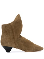 Isabel Marant Doey Boots Brown