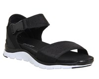 Office Baller Sporty Sandals Black