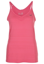 Mizuno Active Top Rouge Red Pink