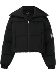 Misbhv Cropped Puffer Jacket Black