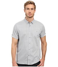 Ted Baker Newcool Navy Men's Short Sleeve Button Up