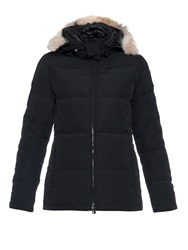 Canada Goose Chelsea Fur Trimmed Down Coat