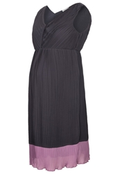 Mama Licious Mlmona Cocktail Dress Party Dress Nine Iron Anthracite