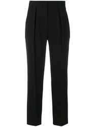 See By Chloe Straight Leg Trousers Polyester Spandex Elastane Viscose Black