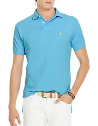 Polo Ralph Lauren Classic Fit Mesh Shirt French Turquoise