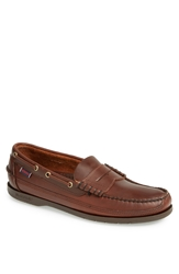 Sebago 'Sloop' Penny Loafer Brown