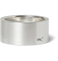 Le Gramme 11Mm Brushed Sterling Silver Ring