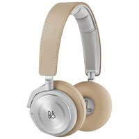 Bang And Olufsen Bando Play By Beoplay H8 Wireless Bluetooth Active Noise Cancelling On Ear Headphones With Intuitive Touch Controls Natural Leather