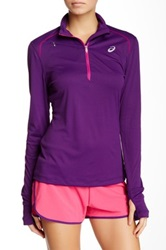 Asics Half Zip Pullover Purple