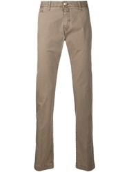 Jacob Cohen Straight Leg Chino Trousers 60