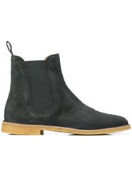 Bottega Veneta Voortrekking Ankle Boots Brown