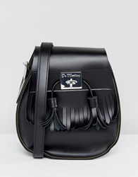 Dr. Martens Dr Black Tassel Saddle Bag