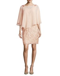 Decode 1.8 Floral Lace Dress Blush