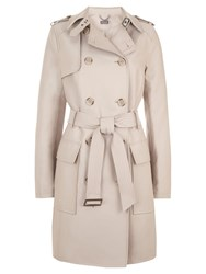 Mint Velvet Trench Coat Camel