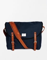 Sandqvist Erik Messenger Bag Navy