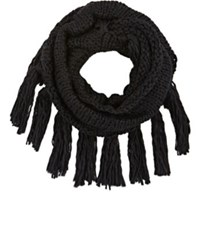 Buji Baja Women's Chunky Eternity Scarf Black
