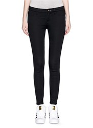 Denham Jeans 'Spray' Active Denim Skinny Jeans Black