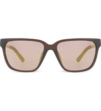 3.1 Phillip Lim Pl85 Square Sunglasses Henna And Silver