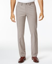 Alfani Men's Luxe Stretch Chinos Only At Macy's Dark Sand