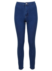 Miss Selfridge S Prety Blue Super High Waist Denim Mid Wash