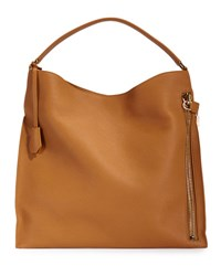 Tom Ford Large Alyx Tote Bag Dark Brown