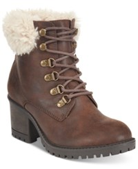 White Mountain Cliffs By Trident Booties Women's Shoes Brown