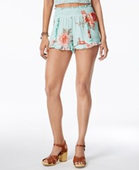 American Rag Ruffled Soft Shorts Only At Macy's Misty Jade