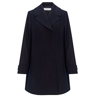 John Lewis Rosa Swing Coat Navy
