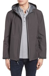 Cole Haan Seam Sealed Packable Jacket Grey