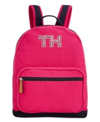 Tommy Hilfiger Pam Dome Backpack Bright Rose Navy