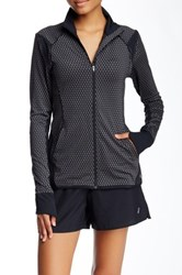Asics Fitsana Printed Jacket Black