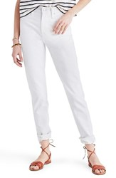 Madewell Women's Perfect Summer High Waist Ankle Jeans