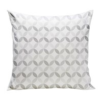 Spot On Square Tops Organic Pillow Grey Gray