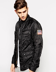 Denim And Supply Ralph Lauren Motorcycle Jacket Black