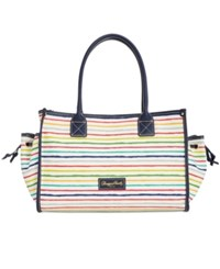 Dooney And Bourke Stars Multi Stripes Delaney Large Tote A Macy's Exclusive Style