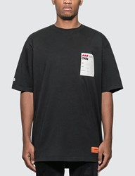 Heron Preston Over T Shirt Black