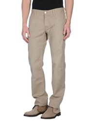 Care Label Casual Pants Khaki