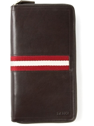 Bally 'Tevin' Wallet Brown