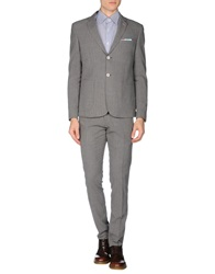 Roberto Pepe Suits Grey