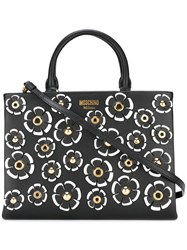 Moschino Floral Tote Black