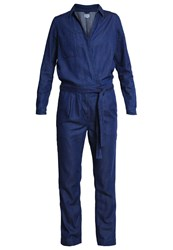 Wrangler Jumpsuit Dark Indigo Dark Blue Denim