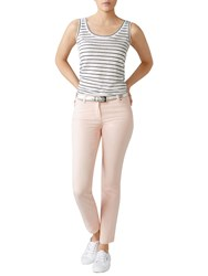 Pure Collection Cropped Jeans Blush